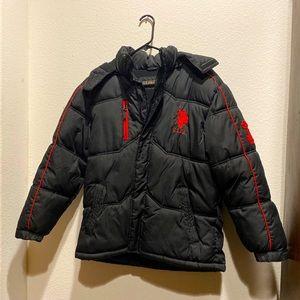 USPA Black Rain Jacket